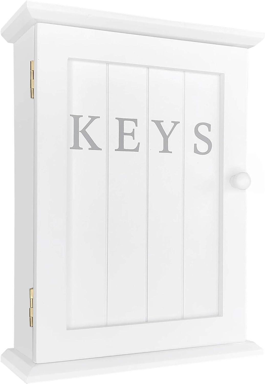 colore Armadietto per chiavi con stampa KEYS GreyZook Bianco