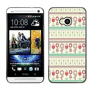 - Hipstr Nebula Aztec Tribal Pattern - - Monedero pared Design Premium cuero del tir¨®n magn¨¦tico delgado del caso de la cubierta pata de ca FOR HTC 801e HTC One M7 Funny House