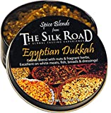 Egyptian Dukkah Spice Blend from The Silk Road Restaurant & Market (2oz), No Salt | All Natural Dukkah Seasoning | Vegan | Gluten Free Ingredients | NON-GMO | No Preservatives