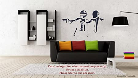 Pulp Fiction Wall Sticker Decal Art Transfer Graphic Stencil Vinyl Decor nic18