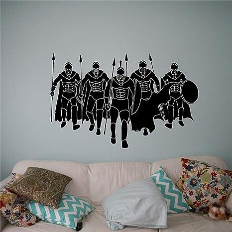 Guerrero espartano Tatuajes de pared Soldado Decoración para el ...