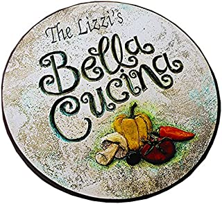product image for Italian Bella Cucina Personalized Lazy Susan