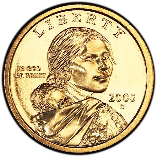 2005 D BU Sacagawea Dollar Choice Uncirculated US Mint
