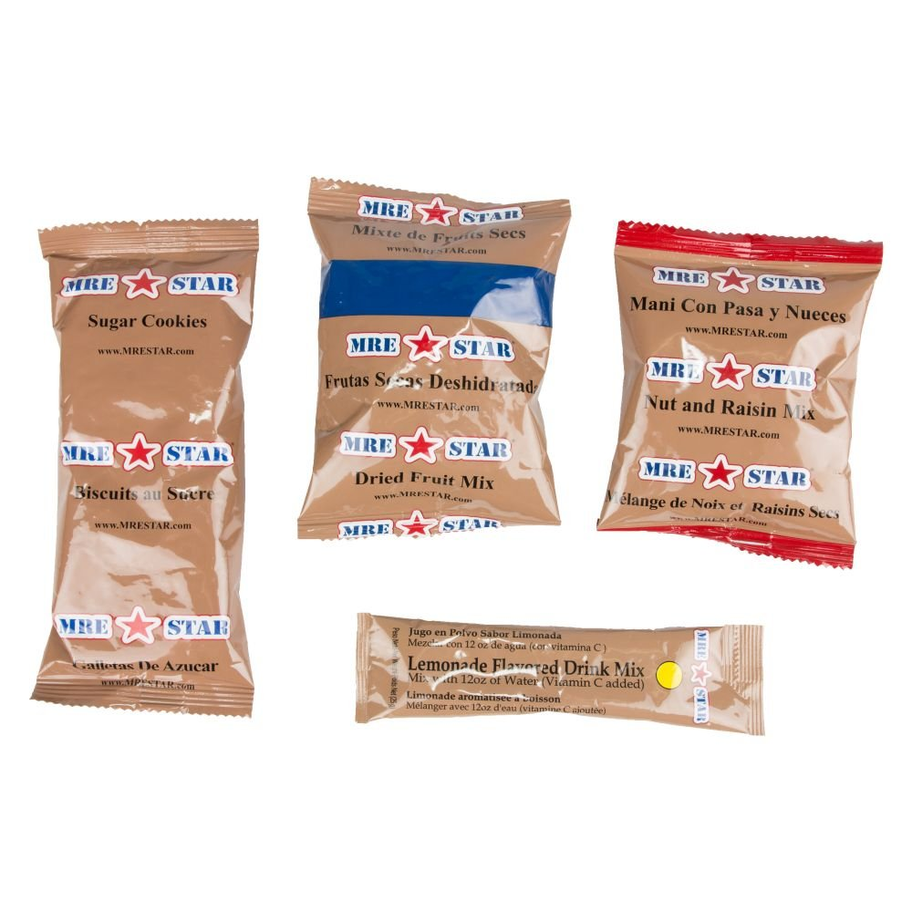 MRE Star ready-to-eat Menu Chile végétarien: Amazon.es: Deportes y aire libre