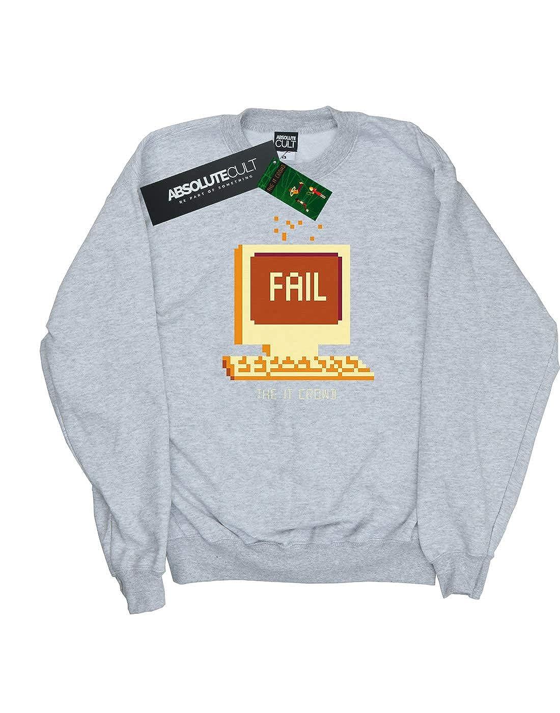 Absolute Cult The IT Crowd Girls Fail Screen Sweatshirt