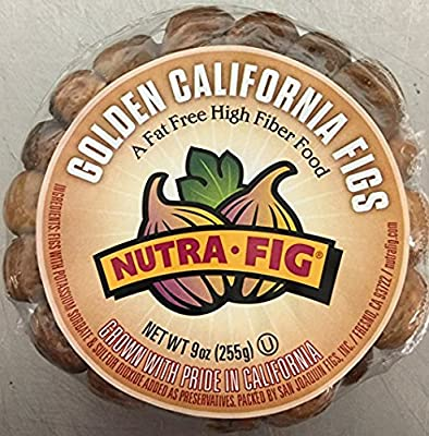 Golden California Figs 9oz(Pack of 2) from San Joaquin Figs, Inc