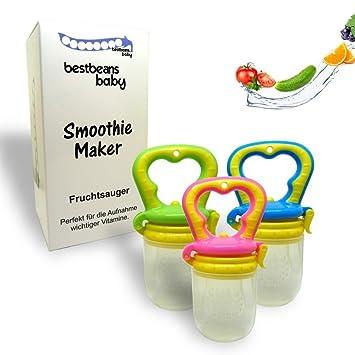 bestbeans Baby Smoothie Maker Fruchtsauger Schnuller - Perfekt für ...