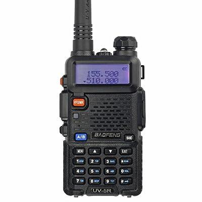 BaoFeng UV-5R 65-108 MHz Dual-Band Ham Radio (Black)
