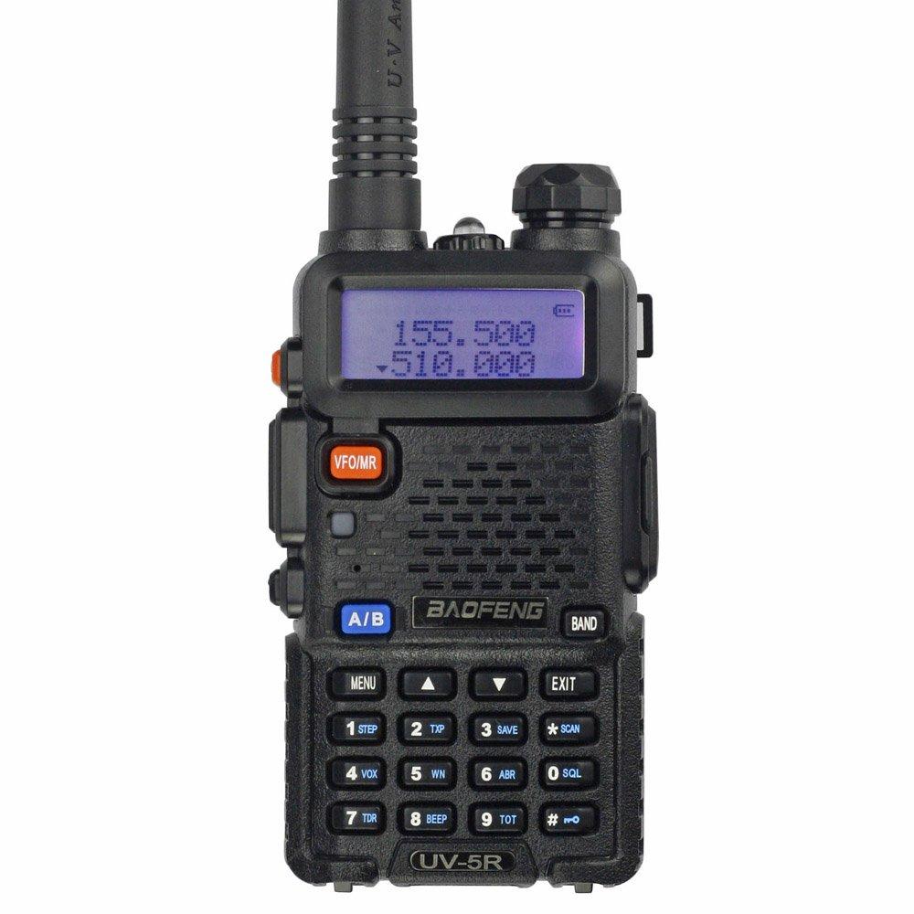 BaoFeng UV-5R 65-108 MHz Dual-Band Ham Radio (Black) by BAOFENG