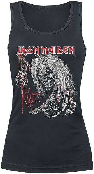 Iron Maiden Ed Kills Again Camiseta Negro V8y3Y