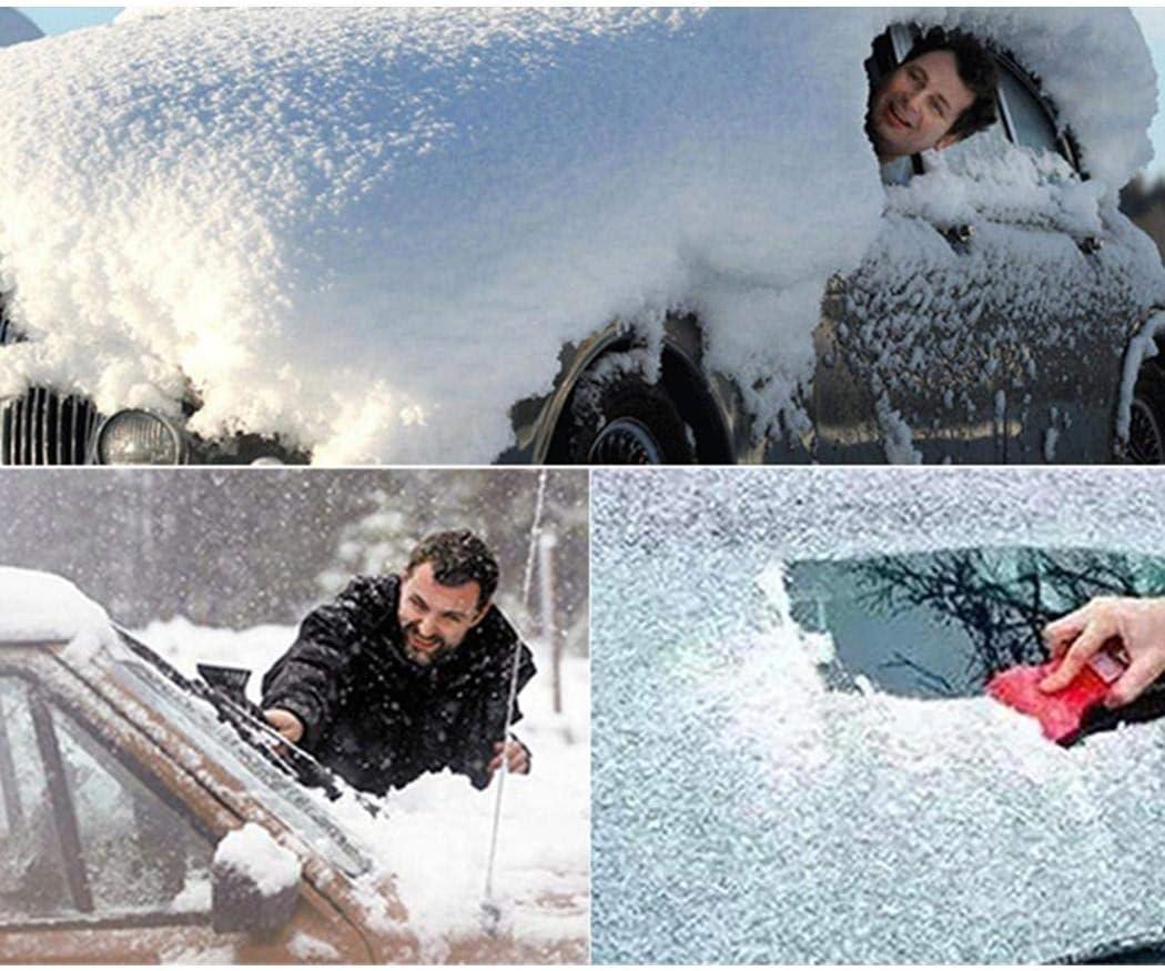 fnemo Tragbare Auto Windschutzscheibe Anti Schneedecke Auto Sonnenschutz Besch/ützer Autoplanen /& Garagen