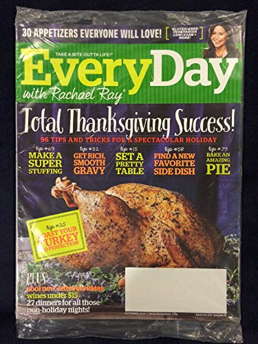 Every Day with Rachael Ray November 2014 Total Thanksgiving Success