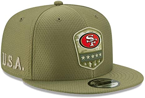 New Era NFL SAN FRANCISCO 49ERS Salute to Service 2019 ...