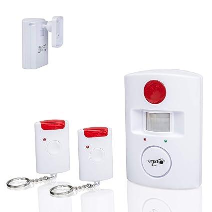 Sistema de alarma inalámbrica de alta calidad por infrarrojos, detector de movimiento,