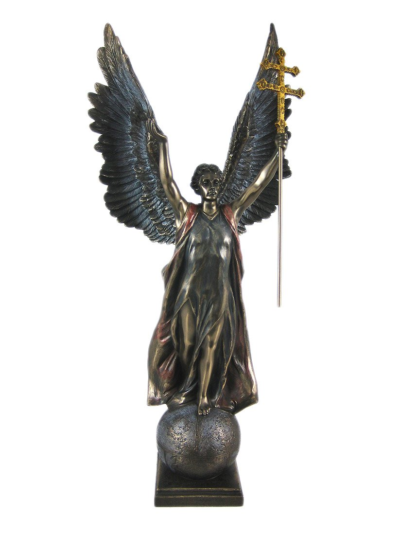15 Inch Replica Figure St. Gabriel in Hungary Heroes Square Decor Gift