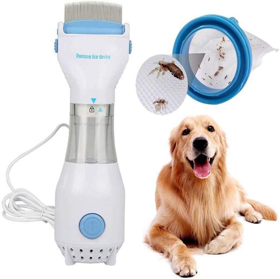 Hzlsy Eléctrico Peine Antipulgas Antipiojos, para Eliminar Pulgas y Piojos, Seguridad Portátil Fácil De Usar para Gatos y Perros: Amazon.es: Hogar