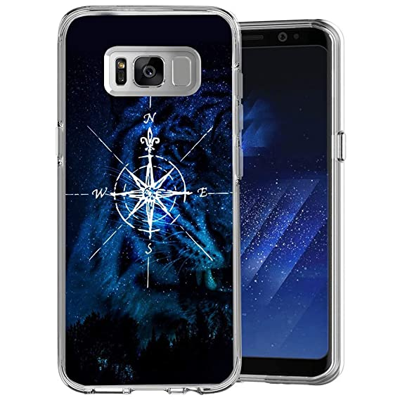 Amazon com: RappA Samsung Galaxy S8 Case Compass Damping,Prevent
