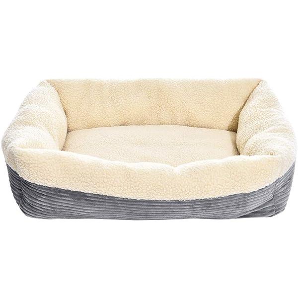Amazon.com : AmazonBasics Pet Cave Bed, Small, Blue : Pet ...