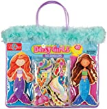 T. S. Shure Daisy Girls Mermaids Wooden Magnetic Dress-Up Dolls