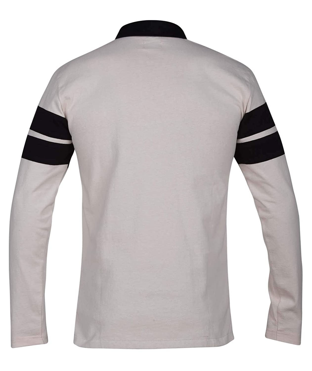 Hurley Mens Collared Rugby Polo Long Sleeve Shirt