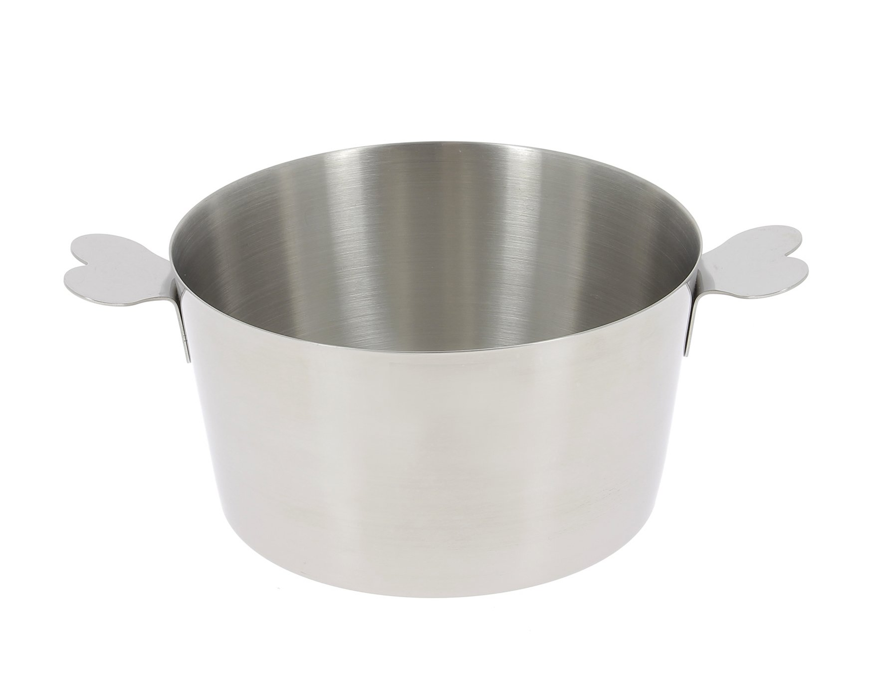 De Buyer Professional Pro Collection Stainless Steel 22 x 16.4 cm Charlotte Mold with Handles 3125.16