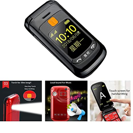 Amazon.com: Peedeu GSM - Teléfono móvil desbloqueado con ...