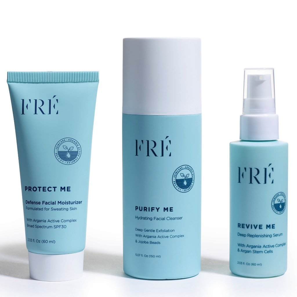 123FRÉ Set For Active Women, Formulated For Sweaty Skin