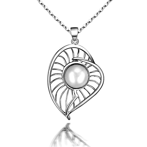 MMC Luxury Pearl Silver Pendants Necklaces