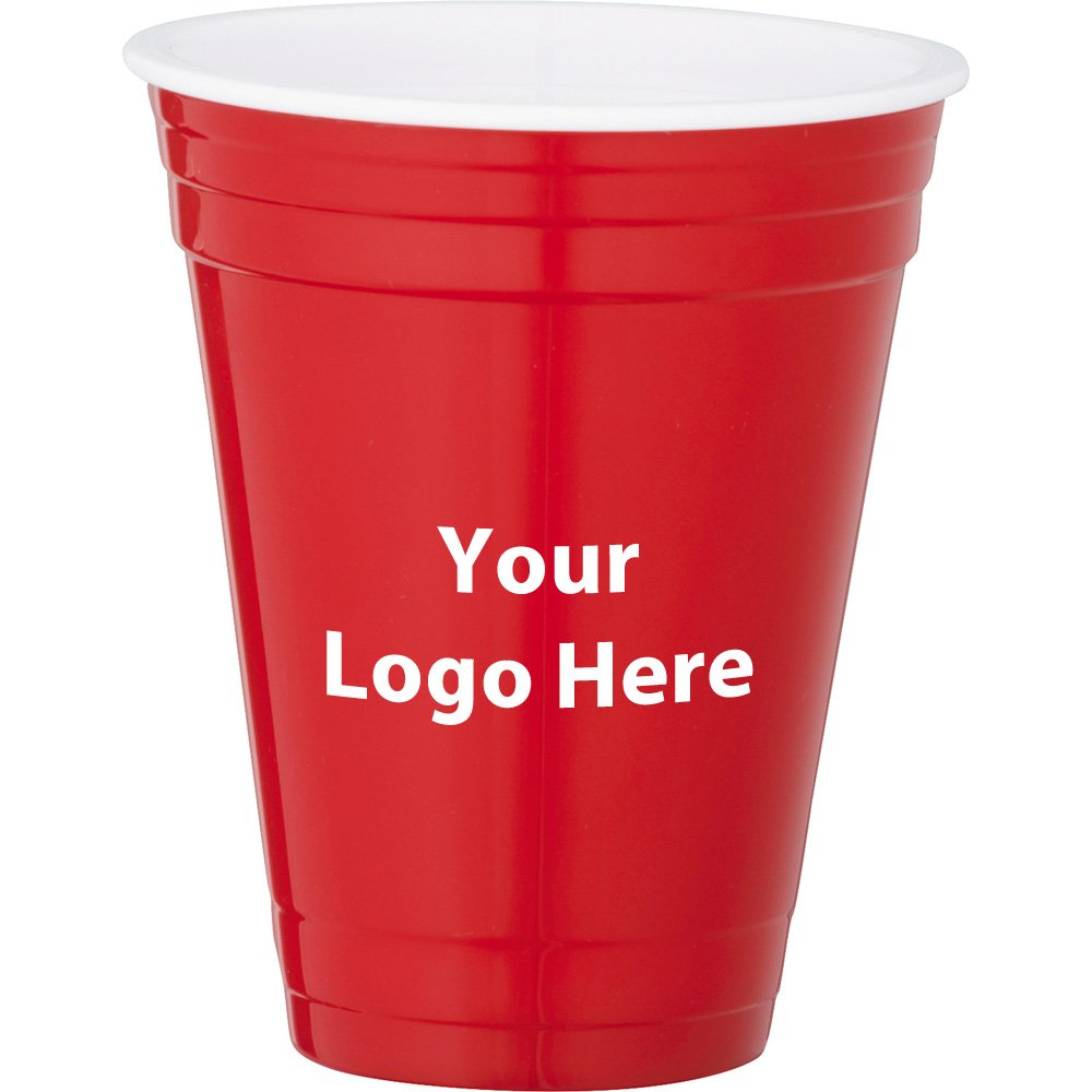 Game Day Event Cup 16Oz. - 144 Quantity - $2.90 Each - PROMOTIONAL PRODUCT / BULK / BRANDED with YOUR LOGO / CUSTOMIZED