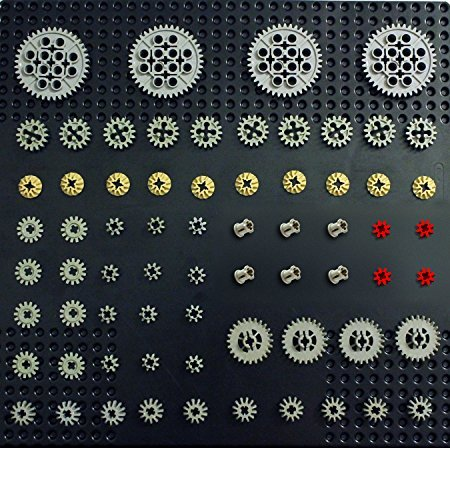 GEAR Pack Set Lot Mindstorms NXT Supplemental Robot Motor Parts Pieces Assortment ()