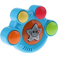 MagiDeal Baby Musical Learning Toy Electronic Jazz Drum with Sound & Lights Kids Toys Gift