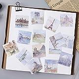 Junlinto,45Pcs/Box Travel All Around The World