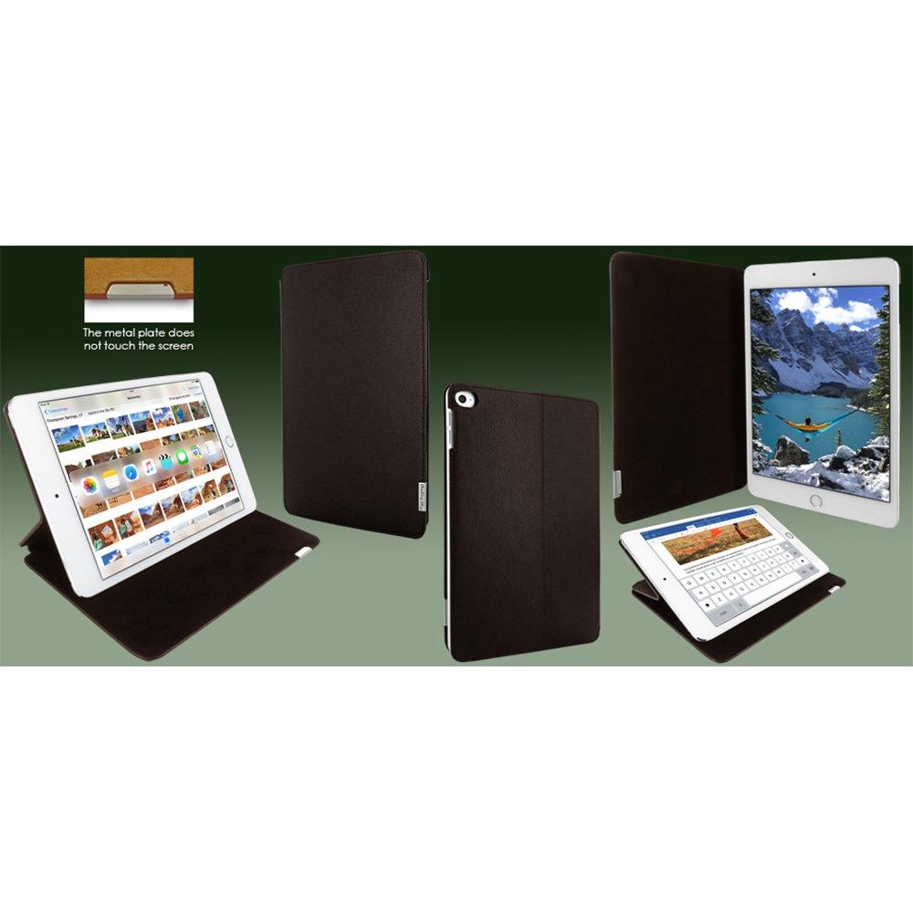 Piel Frama FramaSlim Leather Case for Apple iPad Mini 4, Brown (723M)