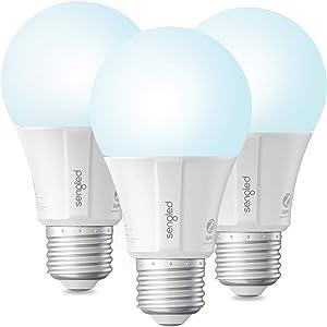 Sengled Smart Light Bulb, Smart Bulbs That Work with Alexa, Google Home (Smart Hub Required), Smart Bulb A19 Alexa Light Bulbs, Smart LED Daylight (5000K), 800LM, 9W (60w Equivalent), 3 Pack