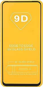 شاشة حماية زجاجية 9H لاوبو رينو 2 - اسود