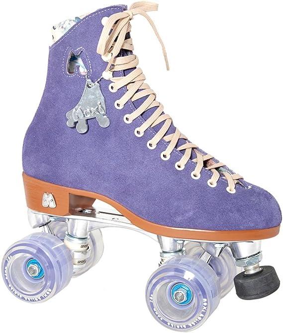 Details about  /RARE NEW Moxi Fundae Purple 8 Pack Park Quad ROLLER SKATE Wheels NEW LAVENDER
