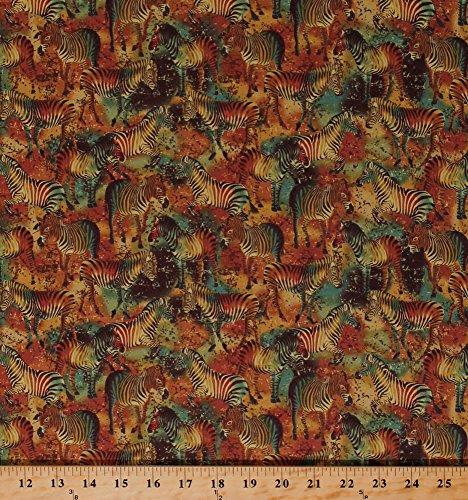 African Safari Fabric - 5