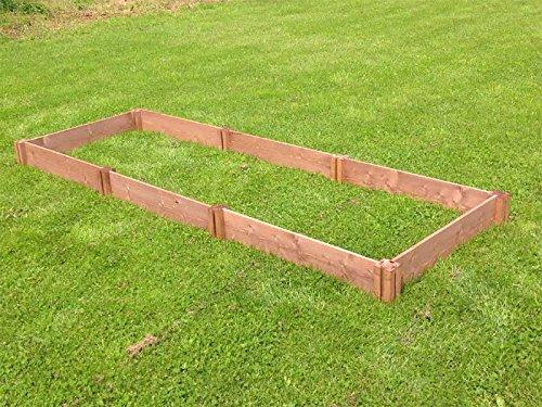 Economía parcela de madera recaudado jardín cama: Amazon.es: Jardín
