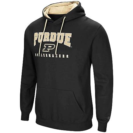 c04c5152b6ff Colosseum Purdue University Men s Hoodie Pullover Hooded Sweatshirt (Small)
