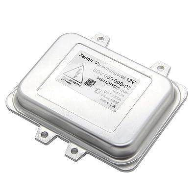 Yikesai 5DV 009 000-00 Xenon Hid Headlight Ballast Control Unit-for 2007-2014 Cadillac Escalade & 2006-2009 BMW E60 & 2008-2014 Chrysler Town Country (5dv 009 000-00): Automotive