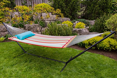 Vivere QFAB29 Quilted Double Fabric Hammock, Ciao