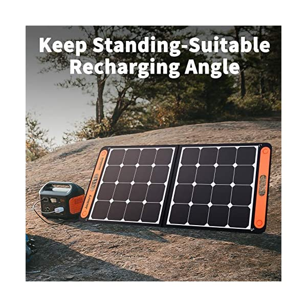 61HKfJA2YTL Jackery Faltbares Solarpanel SolarSaga 100 - Solarmodul für Explorer 240/500/1000 Tragbare Powerstation - Solarladegerät…