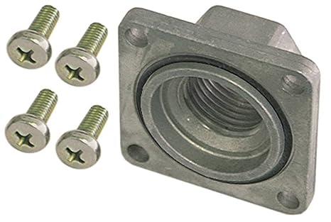 Lotus - Conector de gas para freidora F25-94G, F18-94G, F2-18-98G, F2-25-98G para ELETTROSIT/V4400/4600/4605 3/4 (recto, con junta tórica): Amazon.es: Industria, empresas y ciencia