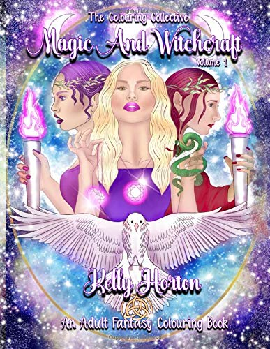 Magic and Witchcraft: An Adult Fantasy Colouring book