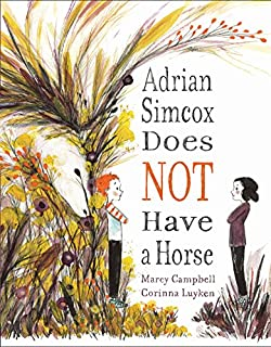 Book Cover: Adrian Simcox Does NOT Have a Horse
