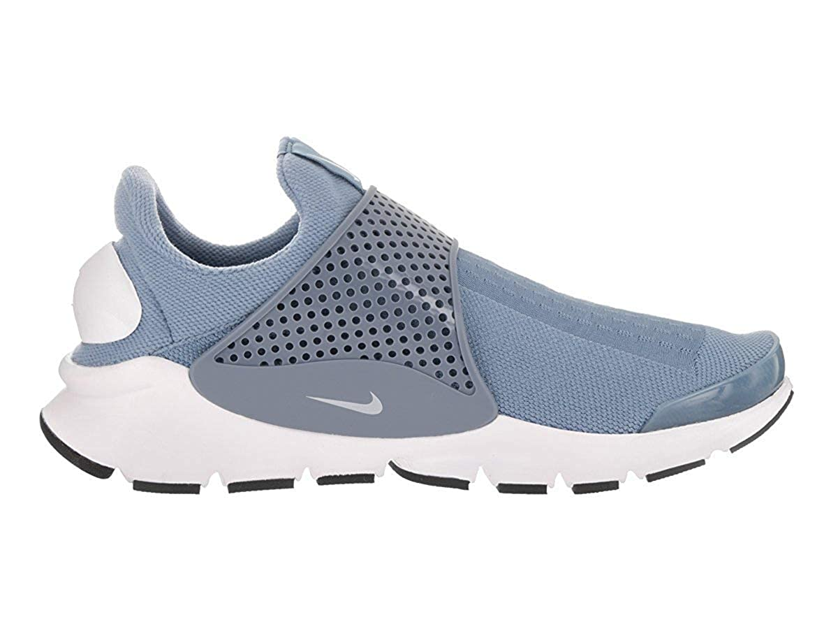 low priced a45e6 1e3bd Nike Womens Sock Dart Running Trainers 848475 Sneakers Shoes (US 11, Work  Blue White Black 402)