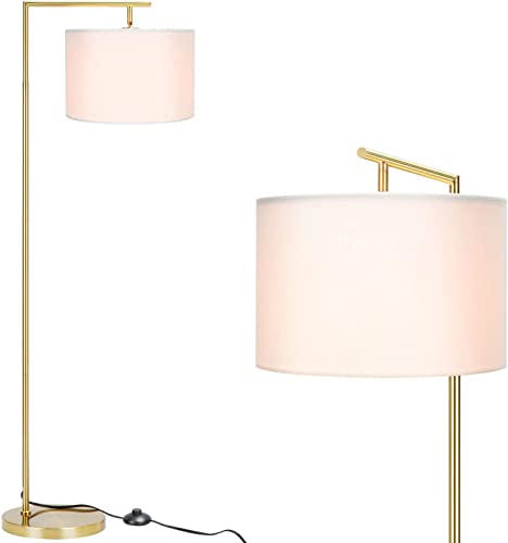 FinExpect Brass Floor Lamp