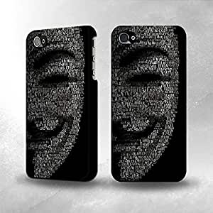 Apple iPhone 5 / 5S Case - The Best 3D Full Wrap iPhone Case - Girl Hand Shadow