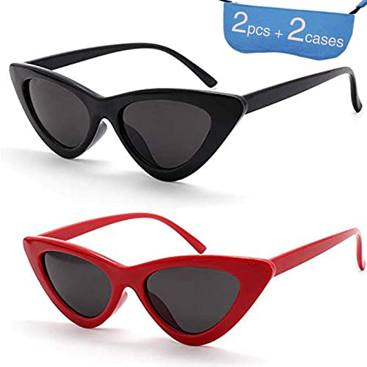 38df42fdaf Retro Clout Cat Eye Sunglasses Clout Goggles Vintage Kurt Cobain Sunglasses  Women Mod Glasses (2
