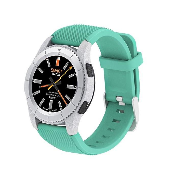 szdldt Fashion redondo inteligentes relojes bluetooth Fitness Monitor de ritmo cardíaco Smartwatch presión arterial muñeca Fitness